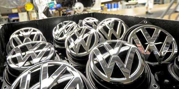Teile in der VW-Produktion