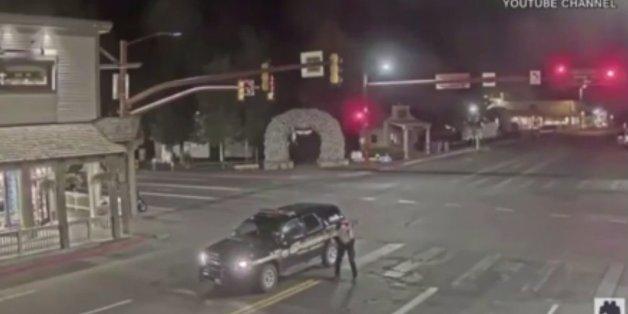 Ein Video einer Webcam aus dem Skiort Jackson Hole wurde zum Viralhit