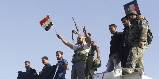 Des soldats loyalistes à Homs, 5 juin 2013 (archives)