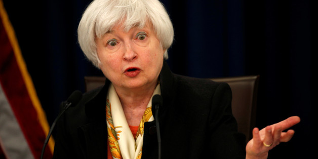 U.S. Federal Reserve Chair Janet Yellen holds a press conference following the Fed's two-day Federal Open Market Committee (FOMC) policy meeting in Washington June 15, 2016. REUTERS/Kevin Lamarque