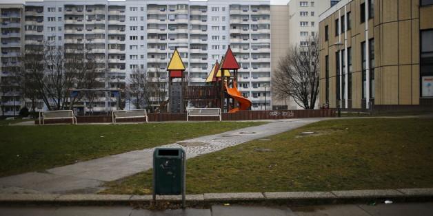 Eine Siedlung in Berlin-Marzahn