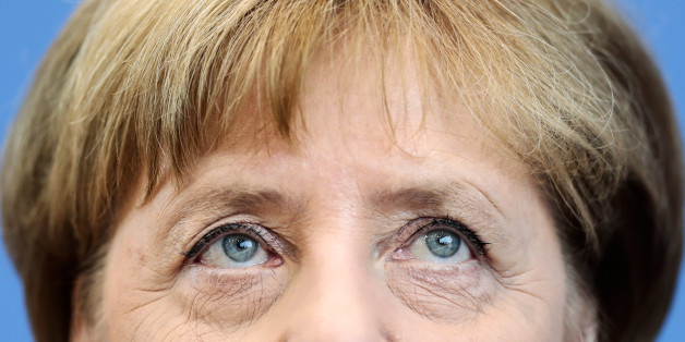 German Chancellor Angela Merkel addresses the media during a news conference in Berlin, Germany, Thursday, July 28, 2016. (AP Photo/Markus Schreiber)