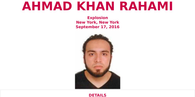 UNSPECIFIED DATE AND LOCATION: (EDITORS NOTE: Best quality available)  In this handout provided by the Federal Bureau of Investigation, Ahmad Khan Rahami poses for a mug shot photo.  Rahami is a 28-year-old United States citizen of Afghan descent born on January 23, 1988, in Afghanistan. Rahami is believed to be connected to the Chelsea bombing from Saturday night, which injured 29 people. New Jersey State Police said he is wanted for questioning over a bombing earlier that day in Seaside Park,