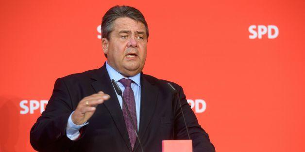 Die SPD stellt sich hinter Sigmar Gabriel.