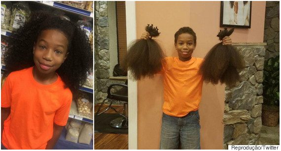 câncer doação cabelos