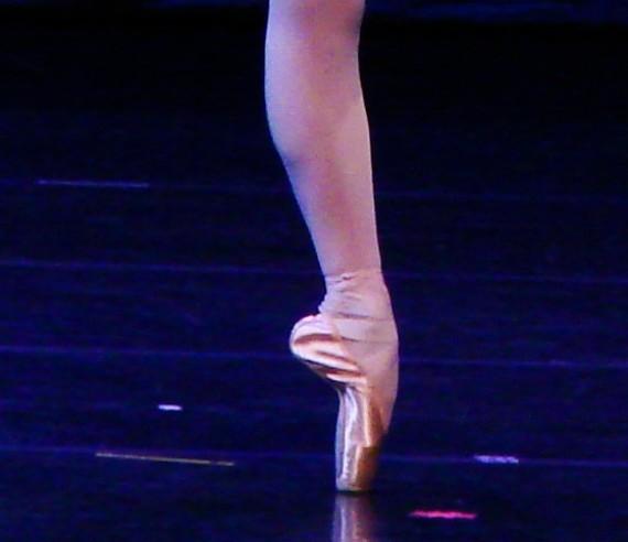 pointe de pied