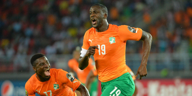 Cotes d'Ivoire ,s Yaya Toure during the 2015 Orange Africa Cup of Nations semi final Congo vs Cote d'Ivoire in Bata Equatorial Guinea on Fevrier 4 2015. Photo by Christian Liewig (Photo by liewig christian/Corbis via Getty Images)