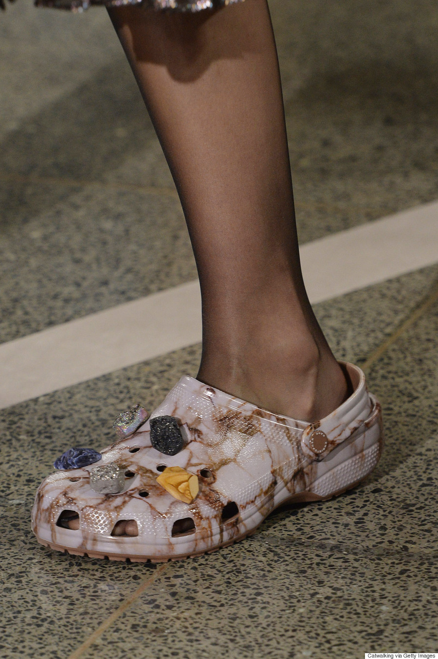 2c867ad2edf2 Crocs Get A  High-Fashion  Makeover By Christopher Kane At London ...