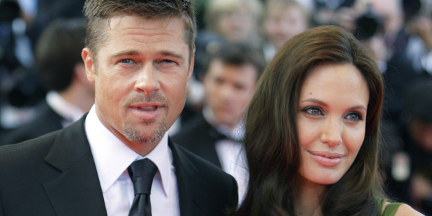 """FILE -  In this May 15, 2008 file photo, American actors Brad Pitt and Angelina Jolie arrive for the premiere of the film """"Kung Fu Panda,"""" during the 61st International film festival in Cannes, southern France. Angelina Jolie Pitt has filed for divorce from Brad Pitt, bringing an end to one of the world's most star-studded, tabloid-generating romances. An attorney for Jolie Pitt, Robert Offer, said Tuesday, Sept. 20, 2016, that she has filed for the dissolution of the marriage. (AP Photo/Matt Sa"""