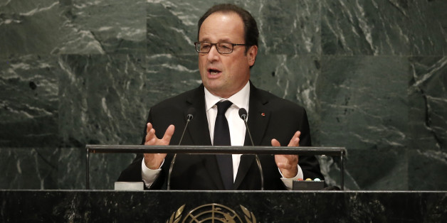 Le président français François Hollande à l'Assemblée générale de l'ONU, New York, 20 septembre 2016