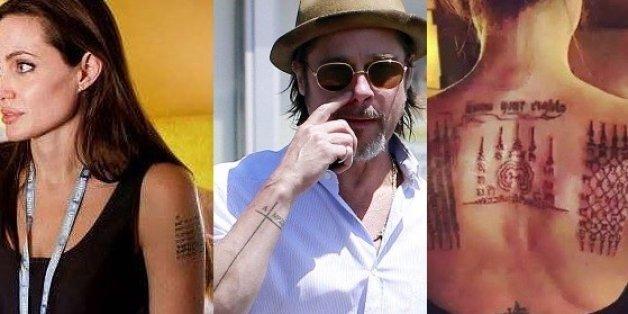 Après leur divorce, Angelina Jolie et Brad Pitt risquent de regretter ces taouages