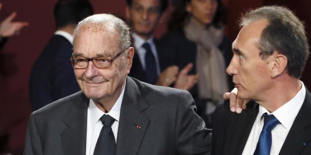 Jacques Chirac, lors de sa dernière apparition publique en 2014.