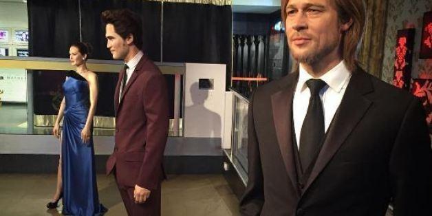 Les statues d'Angelina Jolie et Brad Pitt séparées au musée Madame Tussauds de Londres