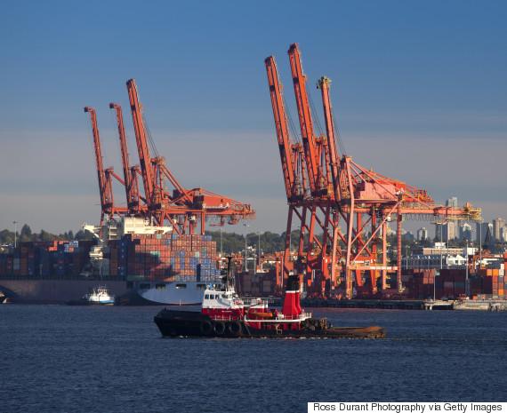 vancouver cargo ship
