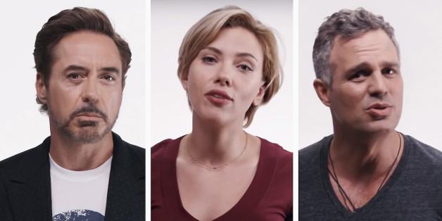 Les Avengers appellent à sauver le monde... de Donald Trump