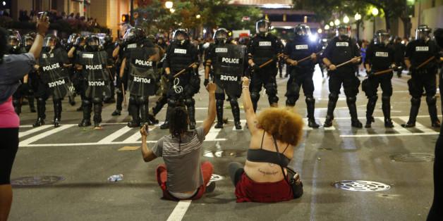Proteste in der US-Stadt Charlotte