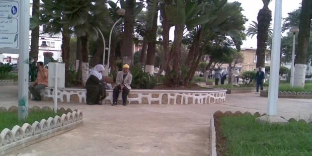 Une vue de l'hôpital Nafissa Hamoud, ex-Parnet, à Hussein-Dey, Alger