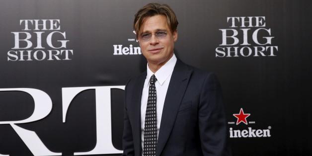 "Cast member Brad Pitt poses on the red carpet at the premiere of ""The Big Short"" in New York November 23, 2015. REUTERS/Shannon Stapleton"