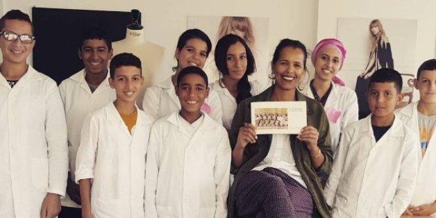 L'école gratuite de broderie de Fadila El Gadi a ouvert ses portes à Salé