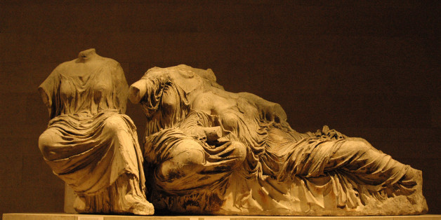 Parthenon Marbles (also known as the Elgin Marbles) at the British Museum in London, England (Photo by Barry King/WireImage)