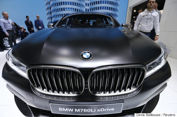 bmw car driving