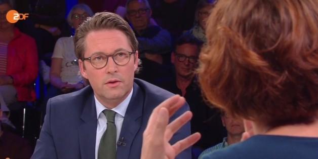 CSU-Mann Andreas Scheuer und Linken-Politikerin Katja Kipping gerieten aneinander