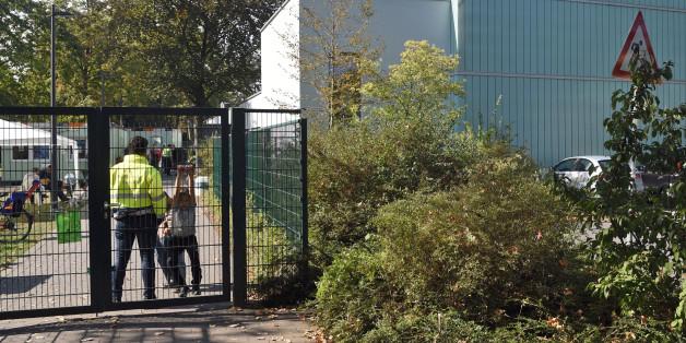 In dieser Flüchtlingsunterkunft in Köln-Porz wurde der 16-Jährige festgenommen