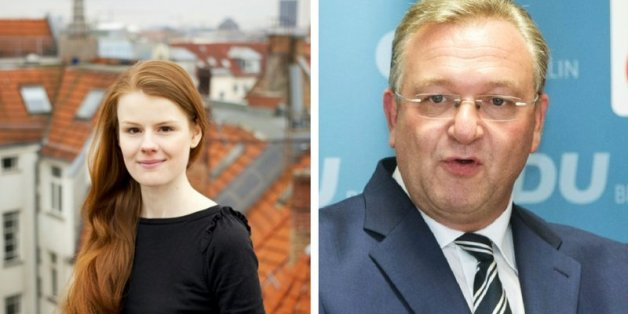 Jenna Behrends prangert Sexismus in der Berliner CDU um den örtlichen Vorsitzenden Frank-Henkel an