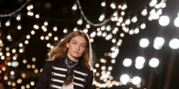 Model Gigi Hadid hat zugeschlagen