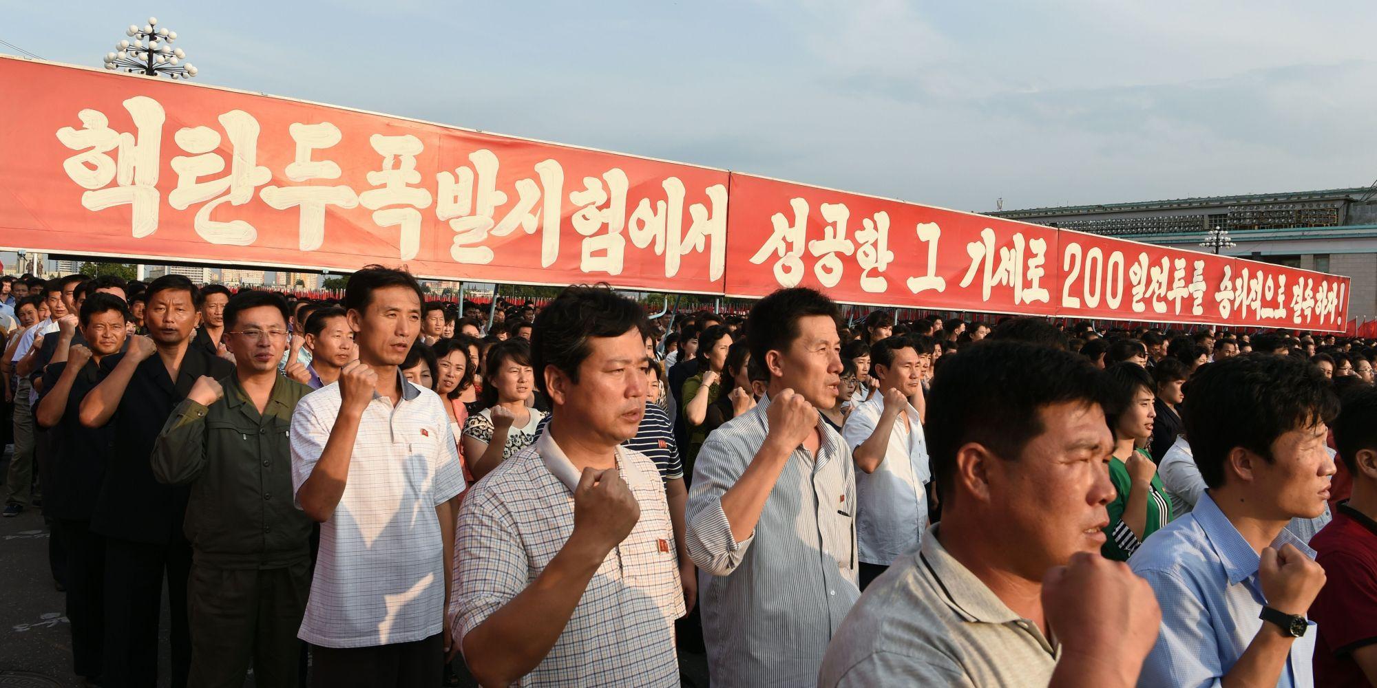 essay on north korea