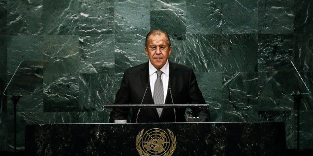 NEW YORK CITY, USA - SEPTEMBER 23, 2016: Russia's Foreign Minister Sergei Lavrov addresses the 71st Session of the UN General Assembly at the UN Headquarters in New York City. Alexander Shcherbak/TASS (Photo by Alexander Shcherbak\TASS via Getty Images)