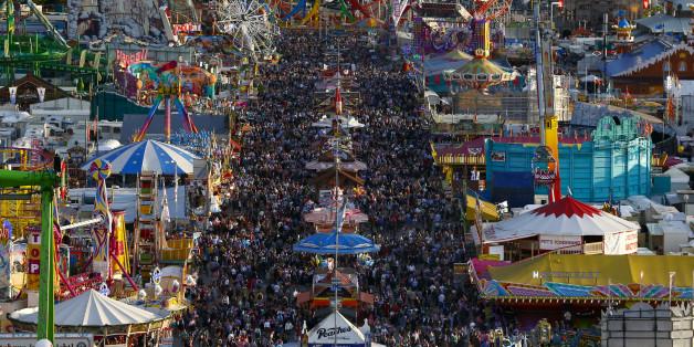 Die Wiesn-Webcam zeigt euch, was auf dem Oktoberfest los ist
