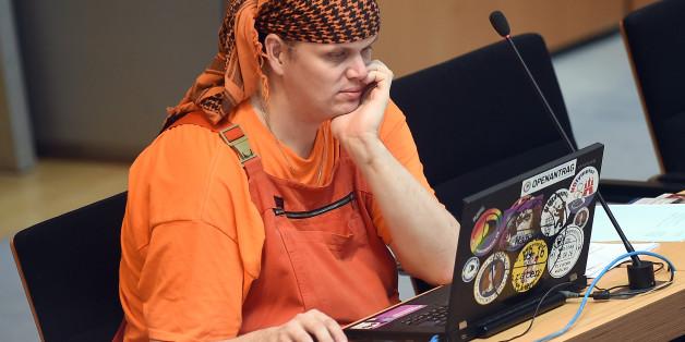 Der Piraten-Politiker Gerwald Claus-Brunner