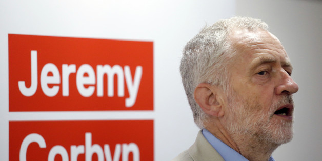 British Labour Party leader Jeremy Corbyn speaks to launch his bid to retain the leadership of the party, at the University College London Institute of Education in London, Thursday, July 21, 2016. The veteran left-wing lawmaker, who was elected leader by the party's members last year, has lost the support of most Labour legislators, who accuse him of being unelectable and of showing half-hearted support for European Union membership during Britain's referendum campaign. (AP Photo/Matt Dunham)