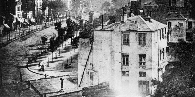 Dieses Foto aus dem Jahre 1836 enthält ein Detail, das Geschichte schrieb