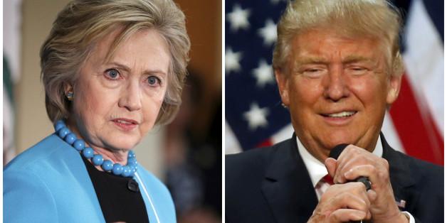 Am Montag findet das erste TV-Duell zwischen Hillary Clinton und Donald Trump statt
