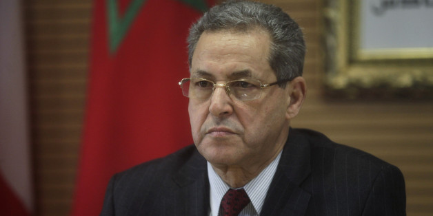 Moroccan Interior Minister Mohand Laenser is seen during a meeting with his Spanish, French and Portuguese counterparts to discuss regional security in Rabat January 25, 2013. REUTERS/Stringer (MOROCCO - Tags: POLITICS CIVIL UNREST)