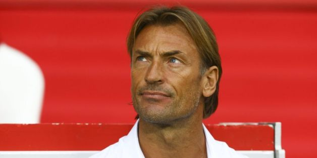Hervé Renard, entraineur de l'équipe marocaine de football