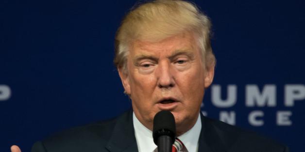 Präsidentschaftskandidat Donald Trump hielt gestern seine erste Debatte mit Kontrahentin Hillary Clinton