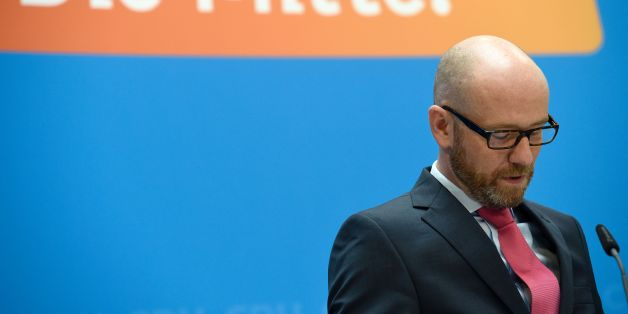 Peter Tauber, Secretary General of the CDU, speaks after the state elections in Mecklenburg-Western Pomerania on September 5, 2016 in Berlin. Merkel's conservative Christian Democratic Union (CDU) won just 19 percent in its worst ever score in the ex-communist northeastern state, while the Social Democrats maintained top place with over 30 percent. / AFP / ODD ANDERSEN        (Photo credit should read ODD ANDERSEN/AFP/Getty Images)