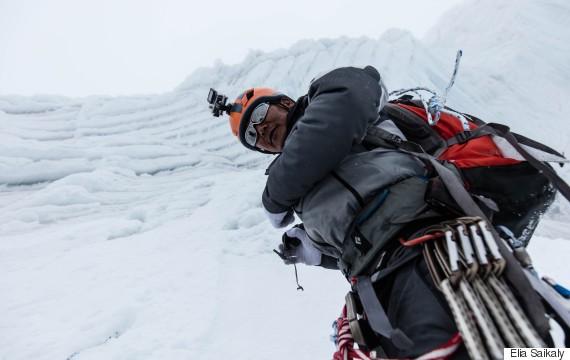 climbing himalaya