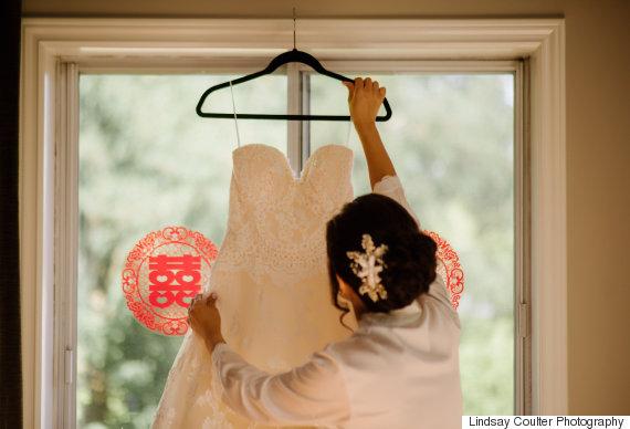 lindsay coulter wedding dress