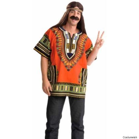 adult hippie dashiki shirt costume