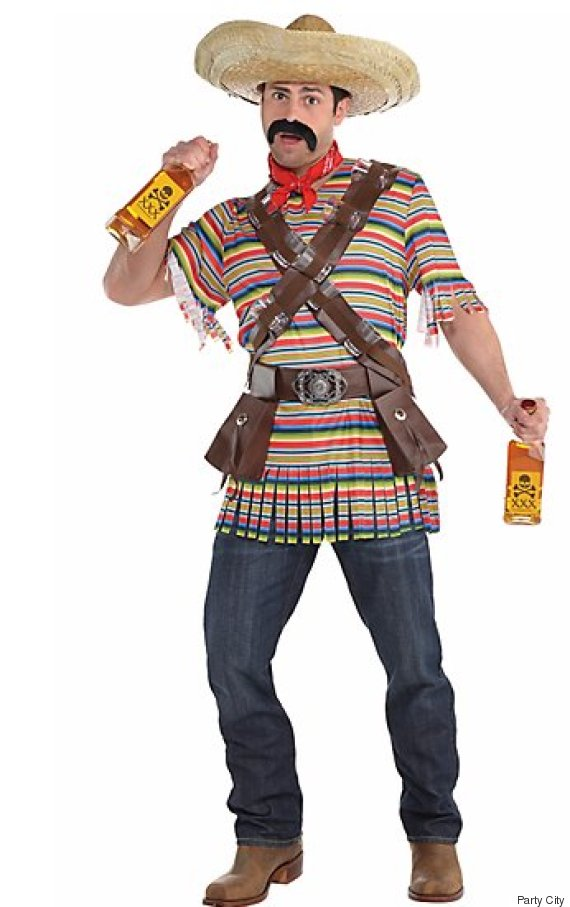 adult tequila bandito costume