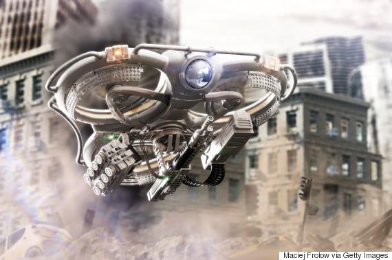 autonomous military drone