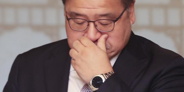 21일 오전 서울 삼청동 총리공관에서 열린 고위 당·정·청 회의에서 안종범 정책조정수석이 참석해 있다.