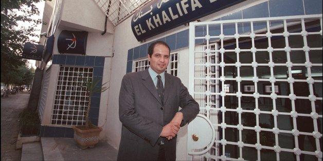 Rafik Khalifa le 10 janvier 2001 à Alger...
