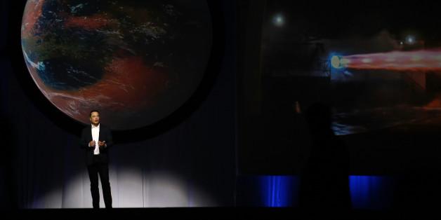 Elon Musk stellt seine Mars-Pläne beim 67. Internationalen Astronautenkongress vor
