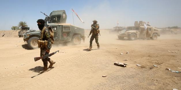 Irakische Truppen