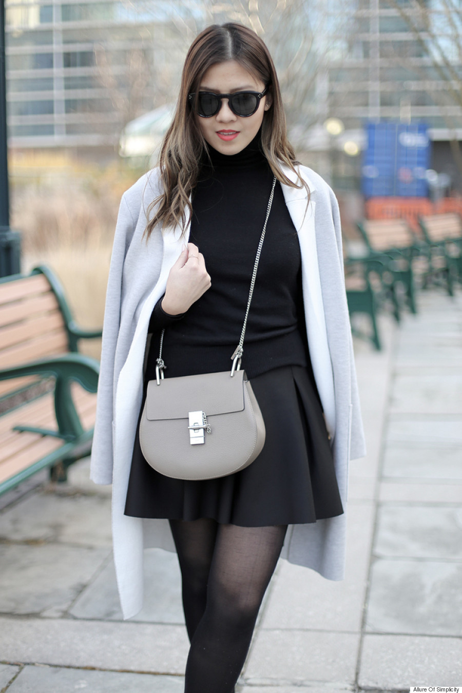jacket drape